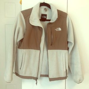 Northface Denali ivory fleece jacket S